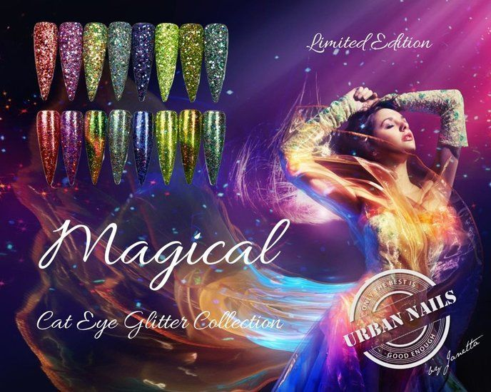 Magical Cateye Glitter Collection