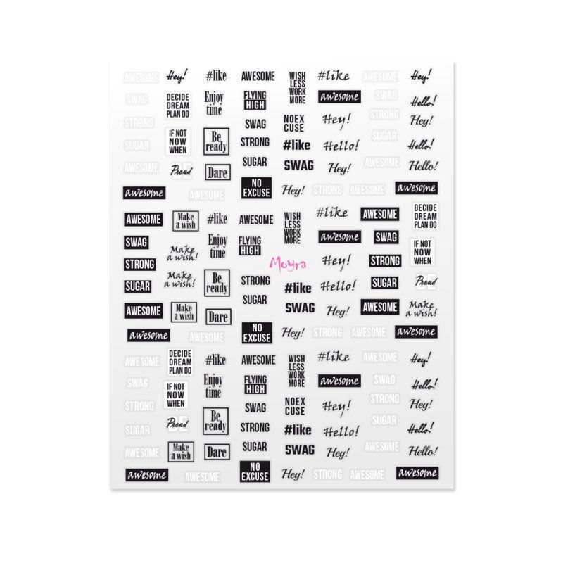 Moyra Matrica Nail Art Sticker NR 11
