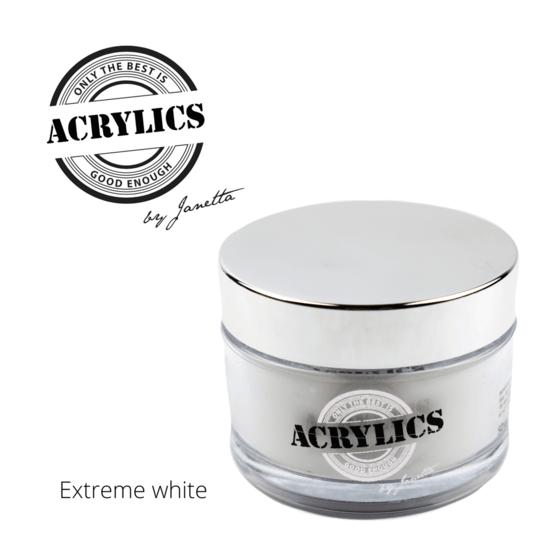 Acryl Poeder Wit - Extreme White