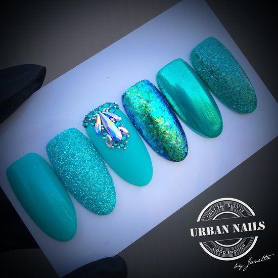 Nailart Inspiration Turquoise