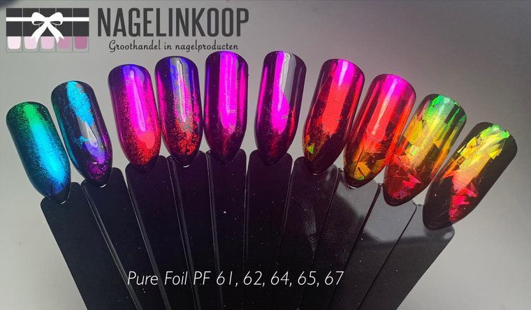 Nagelfolie - Nail Art Inspiration