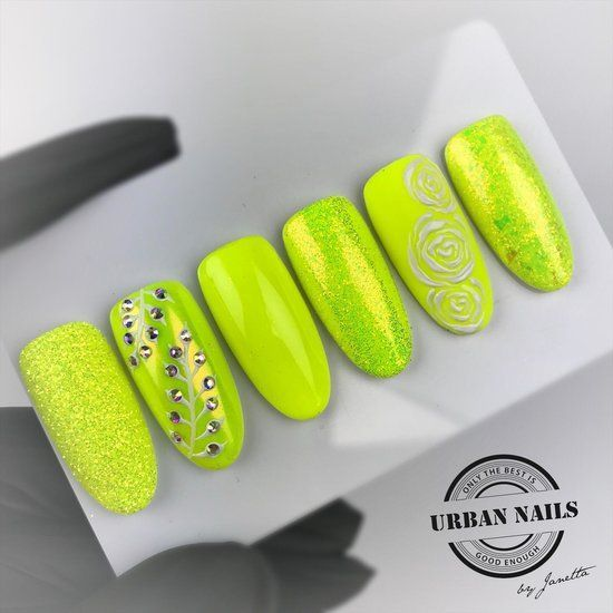 Nailart Inspiration Yellow