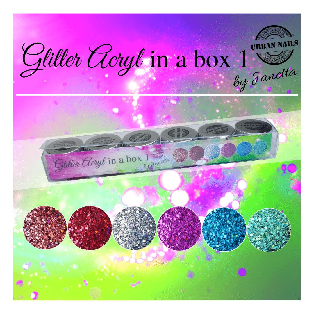 Glitter Acryl in a Box 1