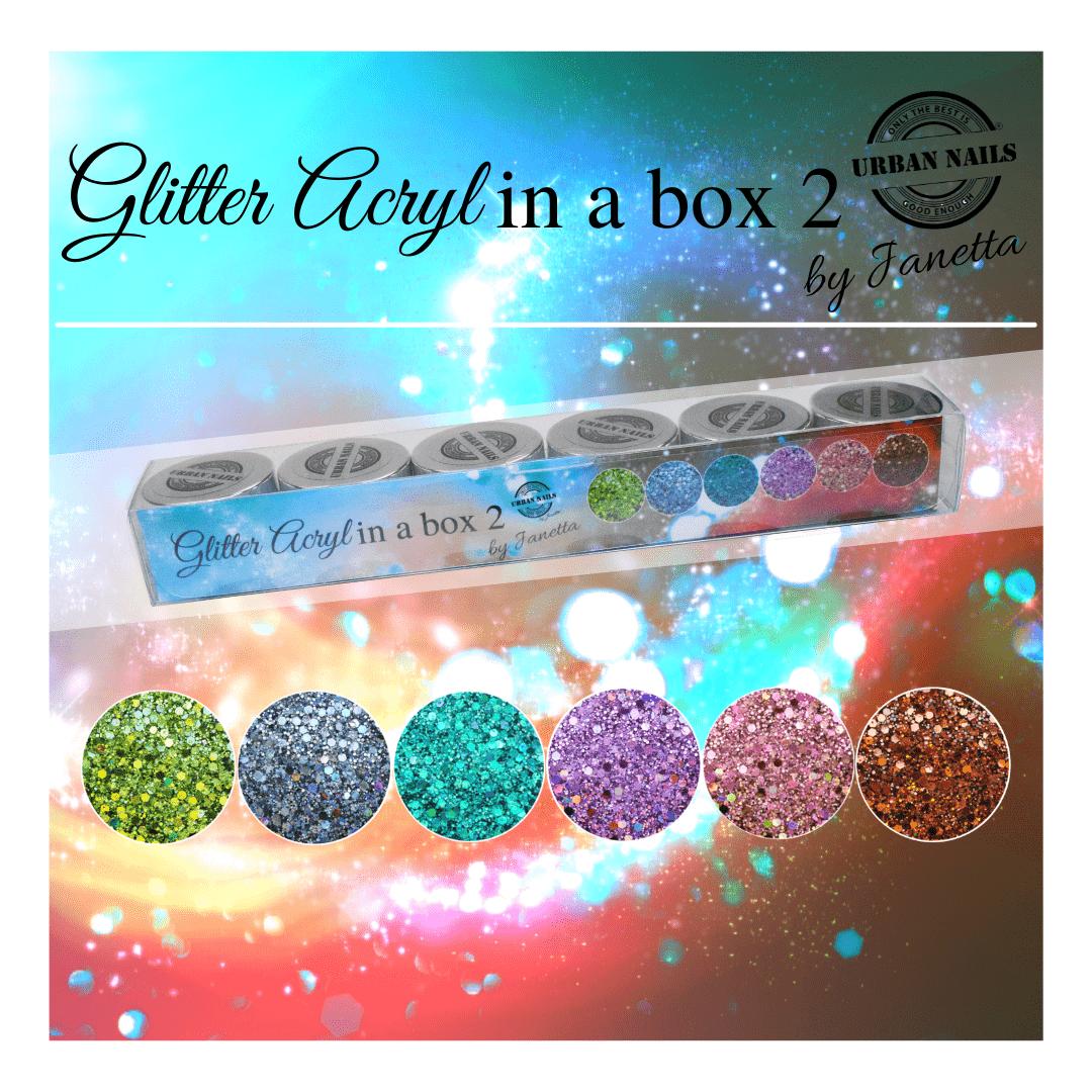 Glitter Acryl in a Box 2