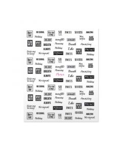 Moyra Nail Art Sticker NR 10