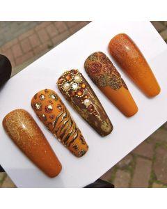 Animal Nail Art Design