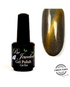 Be Jeweled Cateye CA02 Grijs-Goud