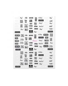 Moyra Nail Art Sticker NR 11