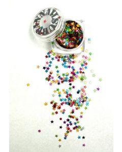 Mardi Grass MG13 Multicolor Stars