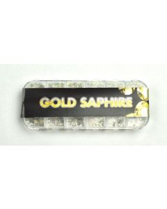 Urban Nails Rhinestones Gold Saphire