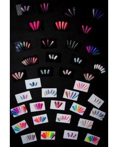 Magneetjes voor achter showcards 10st