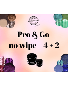 Pro and Go No Wipe 4 +2 GRATIS