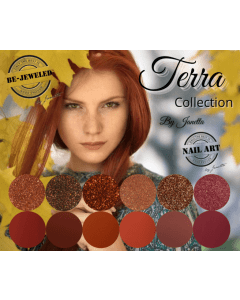 Be Jeweled Terra Collection & Glitters