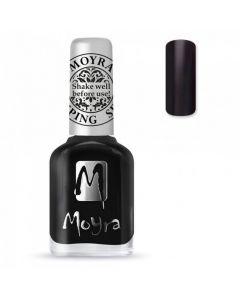Moyra Stamping Polish SP06 Black