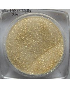 Urban Nails Color Acryl A19 Shimmer Soft Gold