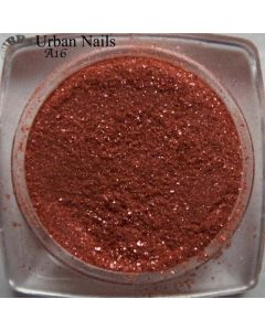 Urban Nails Color Acryl A16 Shimmer Red/Brown