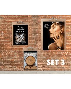 Urban Nails Poster Set met klemborden Set 1