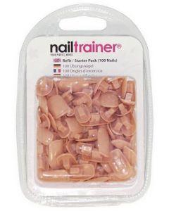 Orginele Essentials Nailtrainer Tips Navulling 100st