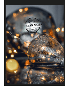 Urban Nails Poster A5   Lights