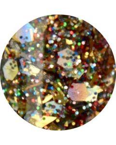 Urban Nails Color Acryl A62 Golden Multi Shimmer