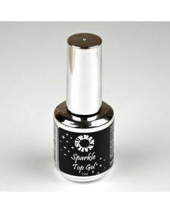 Urban Nails Sparkle Top zilver