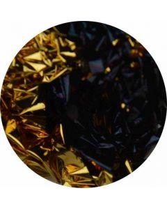 Bladgoud 07 Goud/zwart mix