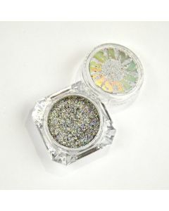 Be Jeweled Holo Flakes Silver