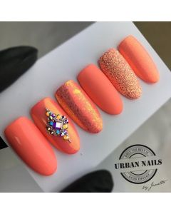 Nailart Inspiration Light Coral