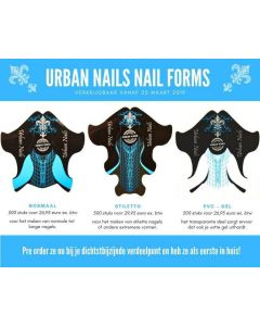 Urban Nails Sjablonen Sample