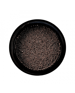 Caviar Bead Gunmetal Black 0.4mm