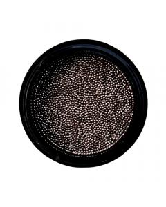 Caviar Bead Gunmetal Black 0.6mm
