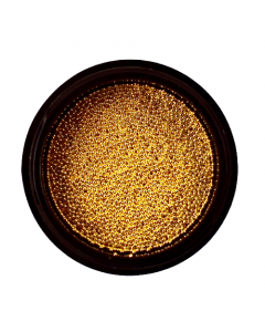 Caviar Bead Goud 0.6mm