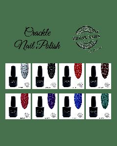 Urban Nail Crackle Nail polish set van 8