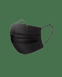 Facemask Zwart 50st