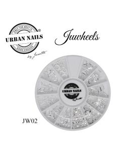 Charms Juwheels JW02 Zilver  Urban Nails