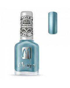 Moyra Stamping Polish SP26 Chrome Blue