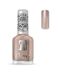 Moyra Stamping Nail Polish sp27 chrome green