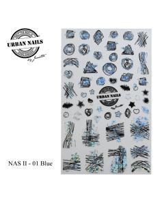 Nail Art Sticker NAS1 - 01