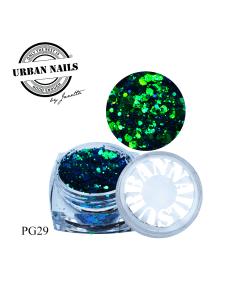 Urban Nails Pixie Glitter Collectie PG29