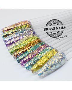 Urban Nails Pixie Glitter Collectie PG25