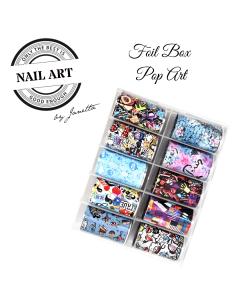 Urban Nails Popart Foil Box