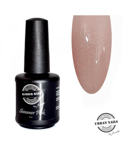 Rubber Base Shimmer pink