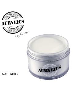 Acrylpoeder soft white